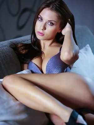 Sabrisse's skin is buzzing with erotic energy. Every sensation, every feeling is amplified with the intensity of her sexual desire. Her lover is
